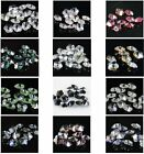 Exquisite 8mm Plum blossom shape Crystal beads Color & Quantity Optional