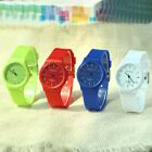 6 Colors Women's Fashion Dress Watch New Arrival Silicone Strip Girls Wristwatch