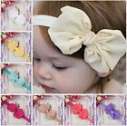Popular European Baby Cute Ribbon Chiffon Fabric Headband Hair Accessories HOT