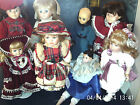 COLLECTABLE PORCELAIN DOLLS - ALBERON ( MEGAN ) and others - chose from menu