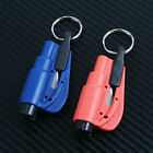 Seatbelt Cutter Keychain Glass Breaker Car Escape Rescue Tool New
