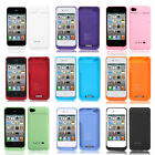 1900mAh External Backup Battery Charger Case Cover Power Bank for iphone 4 4G 4S