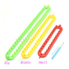 ABS Plastic Loom For Scarf Shawl Hat Socks Long Knit Knitter Knitting 3 Size