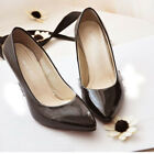 Fashion The Spring Women Pumps Leather High Heels Tip Shoes Best Choice 5 Colors