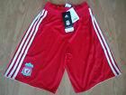 LIVERPOOL ADIDAS JUNIOR HOME SHORTS 2010/2012 SIZES 11-12 YEARS/13-14 YEARS BNWT