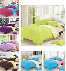 4 Piece New Soft Bed Quilt/Doona/Duvet Cover Sheet(Include1 Flat/ 2 Pillowcases)