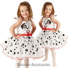 CK217 Child 101 Dalmation Licensed Ballerina Fancy Dress Girl Book Week Costume