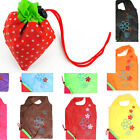 Portable Strawberry Foldable Reusable Recycle Carrier tote bag Shopping Bag Gift