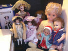 COLLECTABLE DOLLS, VINTAGE, LEONARDO, ALBERON, MUSICAL, & OTHERS boxed & loose