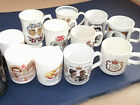ENGLISH ROYAL COLLECTABLE COFFEE CUPS - WEDDINGS, JUBILEES - chose from Menu