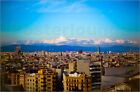 Poster / Leinwandbild Gorgeous sunset over Barcelona - Tanja Kappler