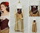 The Phantom Of The Opera Cosplay Christine Daaé Costume Women's Dress Skirt New