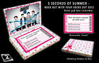 5 SECONDS OF SUMMER 2015 Personalised Concert Ticket Gift Box