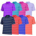 New Adidas Puremotion Textured Stripe Golf Polo - Multiple Sizes & Colors