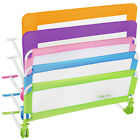 Bed guard toddler safety childs bedguard baby folding mesh rail 102cm