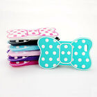 For Apple iphone 5 5S 6TH Fashion Cute 3D Bow Soft Silicon Cover Case Back Skin