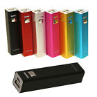 Perceptible Portable Power Bank Battery Charger For Mobile Cell Phone 2600mAh