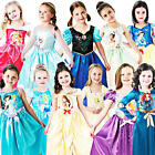 Disney Princess Girls Fancy Dress Childrens Kids Book Week Day Childs Costume