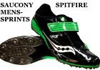 Saucony SpitFire 2 mens running track & field sprint spikes shoes CLEARANCE