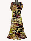 Curvaceous Clothing Georgette Floral Print Gypsy Maxi Dress REDUCED TO CLEAR