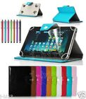 Qualified Leather Case Cover+Gift For 10.1 HANNSPREE SN1AT71BUE Tablet GB8