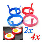 Kitchen Egg Fry Frier Fried Oven Poacher Pancake Poach Ring Mould Silicone Tool