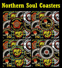 NORTHERN SOUL (PATCHES) - SET OF FUN COASTERS - GIFT/ BIRTHDAY / XMAS