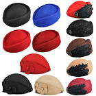 New Elegant Wool Felt Pillbox Stewardess Air Hostesses Beret Hat Party  Base Cap