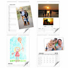 A4 or A3 Blank Calendar 2018 Personalised, choose from 4 designs, Wire Bound
