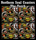 NORTHERN SOUL (THE TORCH) - SET OF COASTERS - GIFT/ BIRTHDAY / XMAS - BRAND NEW