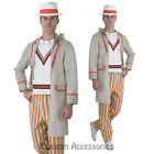 C983 Doctor Who 5th Peter Davison Mens Party Fancy Dress Halloween Adult Costume