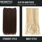 1 Pcs Clip In Hair Extensions Staight / Wavy style