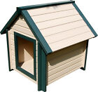 ecoFLEX Bunkhouse Large dog house to 80 Lbs 10 yr warranty / Maintenance Free