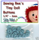 Doll Sewing clothes Buttons 1/4