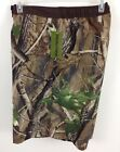 NWT Mens Realtree Swim Board Shorts Camo Hardwoods