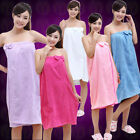 Hot Sale Women's Microfiber Bath Dress/bath Hat Beach Absorbent Towel Wash Cloth