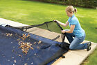 Leaf Net Cover for In-Ground Swimming Pool Winter Covers, Rectangle Sizes