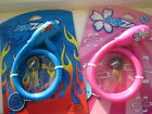 KidZamo childs cycle / bike security coil cable lock in Pink or blue with 2 keys