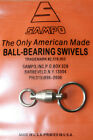 Genuine Sampo Swivel 2 Sizes of Factory Fitted Rings NEW size available!