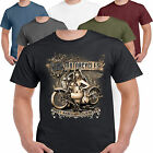 Hot Rod 58 Old Motorcycles Harley Bobber Chopper Route 66 Biker T shirt S-3XL 42
