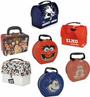 Disney / Muppets / Sesame Street - Tin Tote Lunch Box Storage - New And Official