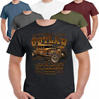 Hot Rod 58 Outlaw Racing V8 Rat Muscle Car Drag Bike Route 66 T shirt S-3XL 59