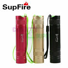 SupFire S7 CREE XPE Rechargeable Keychain Flashlight 5-Modes 18650/AAA Bbattery