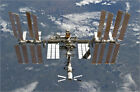 Poster / Leinwandbild International Space Station backgropped by a blue an...