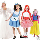 Girls Book Day Costumes Fairytale Fancy Dress Costume New Kids Age 4-13 Years
