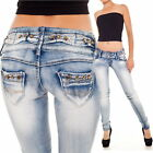 Womens Jeans Size 8 S 36 New Sexy Stretch Hot Washed Denim Pants Wear For Ladies