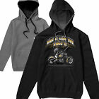 HotRod Ride It Harley Bobber Chopper Route 66 Biker Hoodie Hoody T shirt S-3XL50