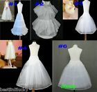 wedding skirt flower girl Petticoat Slip white A-Line hoop Crinoline Underskirt