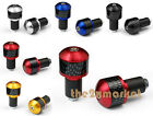 Universal Handlebar Carbon Fibre Bar Ends Plugs Slider For Yamaha 22MM New