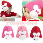 Winter Warm Lovely Cute Rabbit Baby Toddler Kids Boy Girl Soft Cap Hat Xmas Gift